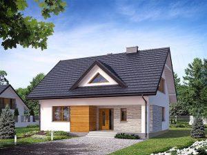 Projekt domu Indygo 4 BSA1702